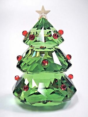Christmas Tree, Green Crystal Festive Holiday 2016 Xmas Swarovski #5223606