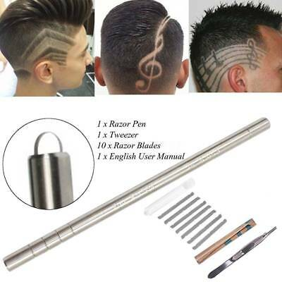 Professional Hair Engraving Pen Razor Shaver Beard Hair Design Eyebrows BarberJD