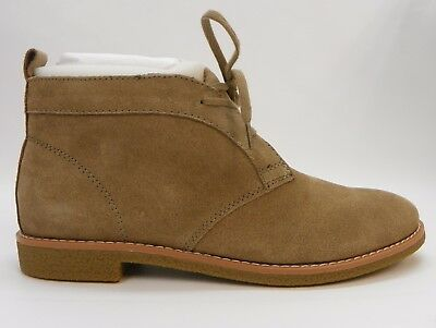 cdf8ef988 TOMMY HILFIGER WOMENS Shoes Blaze Lace-Up Chukkah Oxford Booties Taupe  Suede 8.5 -  35.59