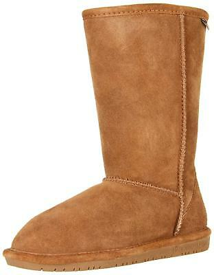 3ce27563 BEARPAW Emma Tall Youth Boot, Hickory, Size 1 M US Little Kid