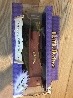 Harry Potter Collectible Hogwarts Express Super torch NEW IN BOX