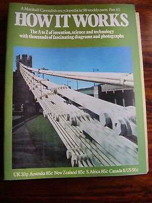 Marshall Cavendish How It Works Mag # 85 Tesla Coil Thatching Thomas Telford