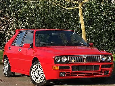 Lancia Delta 2.0i 16v turbo 4x4 HF Integrale Evolution I 1992 45,000 miles FSH