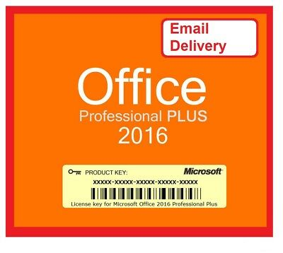 Genuine Microsoft Office 2016 Professional  Product Key & Download Link