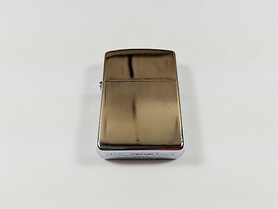 Oil Kerosene Refillable Flip Top Pocket Windproof Metal Cigarette Lighter Silver