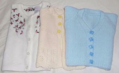 Baby Sweaters, Handmade Knit, Gymboree, 3-18 Mos, MultiColors, Unisex, Sweet!