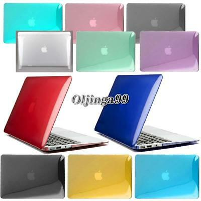 New Crystal Clear Glossy Hardshell Hard Case Cover For Apple MacBook