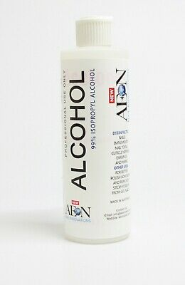 EDS Isopropyl 99.9% Alcohol For Professional Use Only (250ml/8.45oz)