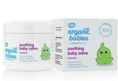 Green People bébés Bio Lavande Apaisant bébé Salve - BEST SELLER - Organique