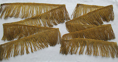 Vintage Gold Metallic Rope Cording Med. Patina Nice Quality  French