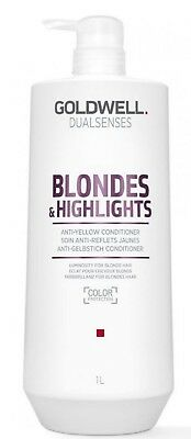 Goldwell Dualsenses Blonde & Highlights Conditioner 1 Litre