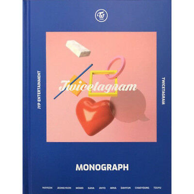 TWICE [TWICETAGRAM] MONOGRAPH DISC(DVD CD)+150p Photo Book+9p Card K-POP SEALED