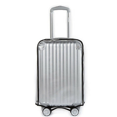 Transparent PVC Waterproof Protector Luggage Suitcase Dust Cover trunk protector
