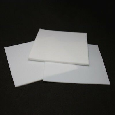 0.5/1/2/3/4/6mm PTFE Sheet Teflon Film Plate Plastics Thick High Temperature New