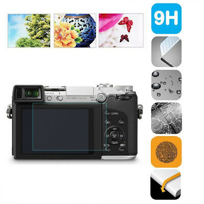 Tempered Glass LCD Screen Protector Film for Panasonic Lumix TZ90 GX7 GF10 GF9