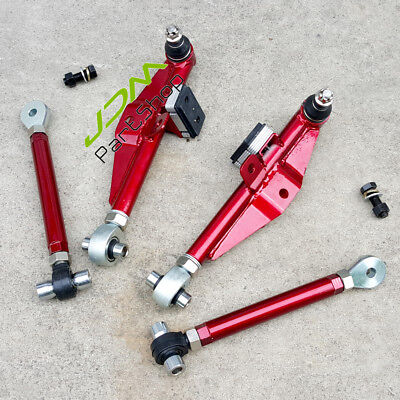 Fit Nissan S13 S14 S15 180SX 240SX 300ZX Z31 Z32 Front Lower Control Arms Red