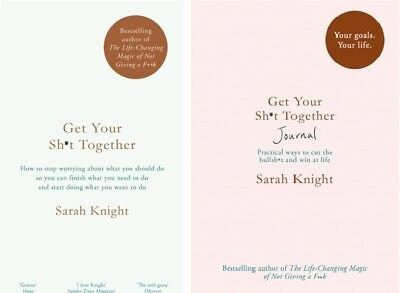 Get Your Sh*t Together & Get Your Sh*t Together Journal by Sarah Knight NEW