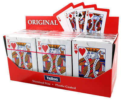 CHEAP PLAYING CARDS, 49p SUPERB QUALITY! 48 PACKS CARTON PRICE,