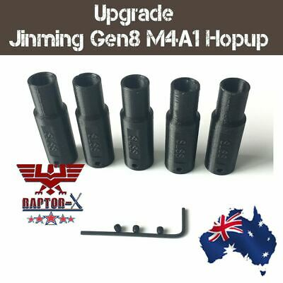 Upgrade 3D Print Jinming Gen8 M4A1 Hop Up 7-8mm Gel balls Blaster Gun Hopup OZ