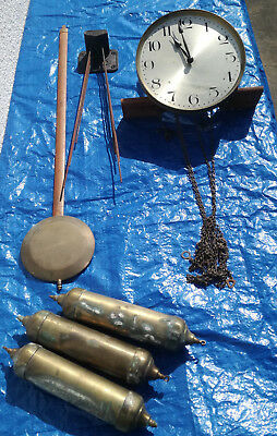 KIENZLE GRANDFATHER CLOCK MOVEMENT 8 hammers 8 gongs no odo