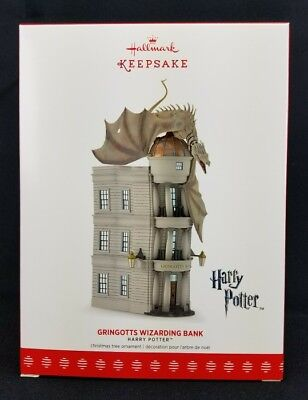 Gringotts Wizarding Bank Harry Potter Hallmark Keepsake 2017 Ornament