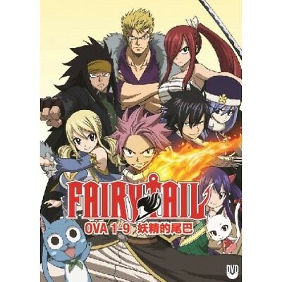 Fairy Tail (OVA 1-9) DVD ~ ENGLISH SUB ~ REGION FREE