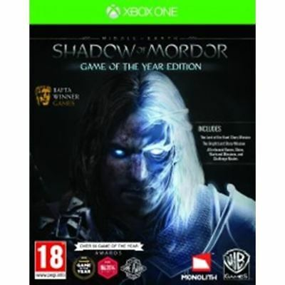Shadow of Mordor GOTY - XBOX ONE IMPORT neuf sous blister