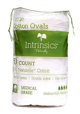 Intrinsics Large Cotton Oval 50 Count