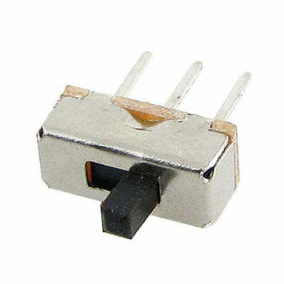 50 Pcs 2 Position SPDT 3Pin Slide Switch Control Small Power Electronic Projects