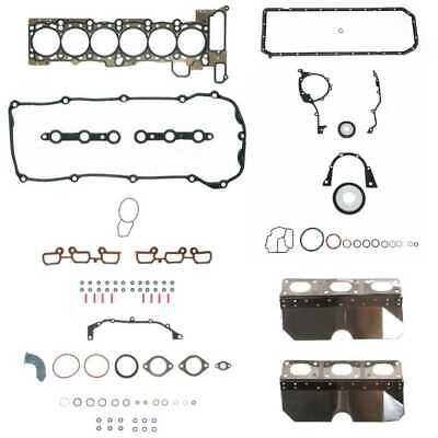 Engine Head Gasket Set with Exhaust Manifold and Conversion Gasket Set fits BMW