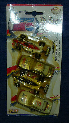 1997 Pepsi Racing Team Die-Cast by Golden Wheel, set of 4                   H102