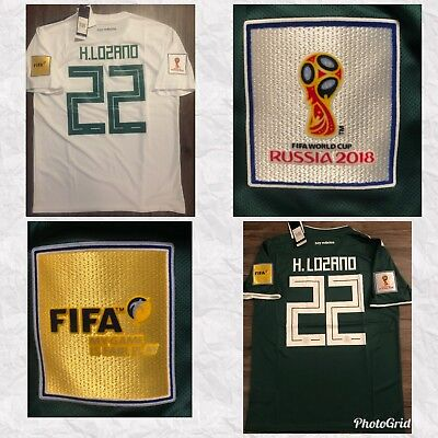f0a7cee8d FIFA WORLD CUP 2018   Hirving Lozano   Mexico Away-Home Jersey ...