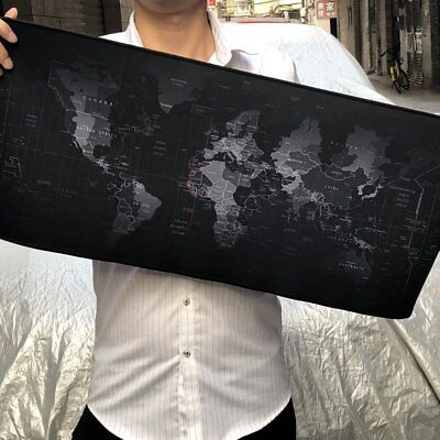 Extended Thick Gaming Mouse Pad Large Size Desk Keyboard Mat NonSlip Rubber Base