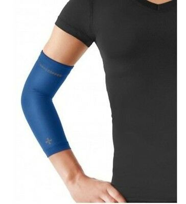 NEW Tommie Copper Women's Recovery Vantage Elbow Sleeve Large/Cobalt Blue