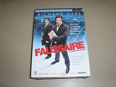 "DVD neuf sous blister,""FAUSSAIRE"",richard gere"