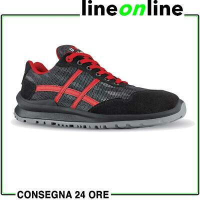 Scarpe antinfortunistiche U Power Senna S1P SRC UPower leggere - Linea Flat Out