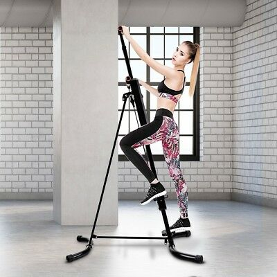 Maxi Climber Men Women Vertical Climbing Fitness System Stepper Cardio Machine