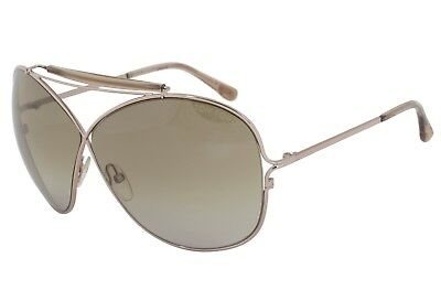 8334075055b8c Tom Ford Catherine Sunglasses Brown Gradient Lens Bronze FT0200 34B 67-6 125