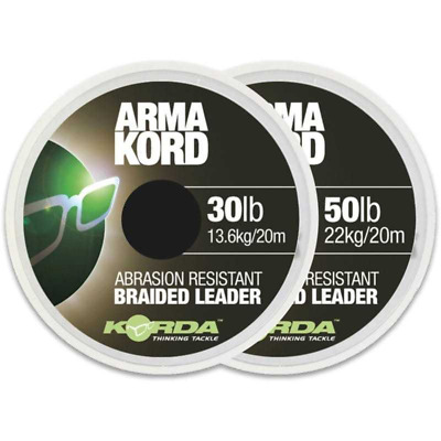 Korda Arma Kord Carp Fishing Shock Snag Leader Range New