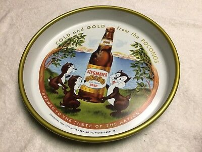"""Stegmaier 1959 From The Pa.. Poconos Cold And Glod Medal Beer """"tray"""""""