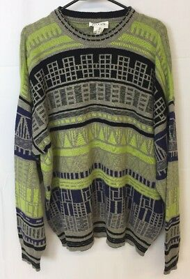aea62466 Vintage Hugo Boss Sweater Coogi Style Inspired Made In Austria Size Men  Size XL?