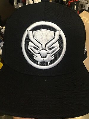 bcc75b9dd22 Marvel Comics BLACK PANTHER Suit Up SnapBack Hat. NWT. One Size Fits All