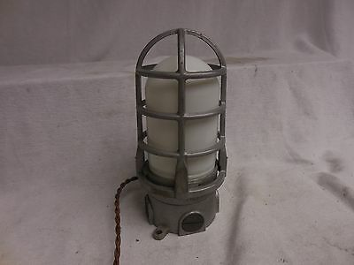 VINTAGE INDUSTRIAL  Explosion Proof ADALET TABLE LIGHT TOUCH Feature STEAMPUNK**