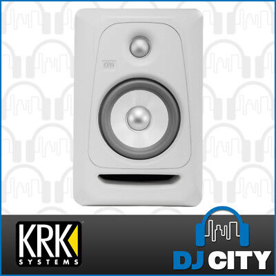 "KRK RP5G3W Rokit 5 G3 Generation 3 Active 5"" Powered Studio - White"