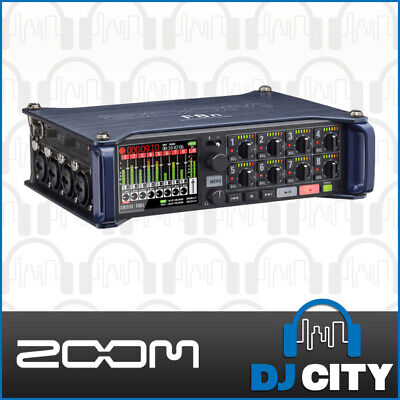 Zoom F8n Portable Recorder Multi-track Battery Powered Interface w/ iOS app
