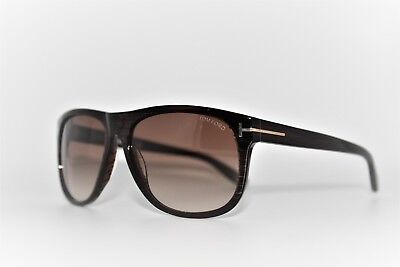 eca48af355 Tom Ford Olivier Tf236 50P Striped Brown Sunglasses Men s Frames 58Mm Tf 236