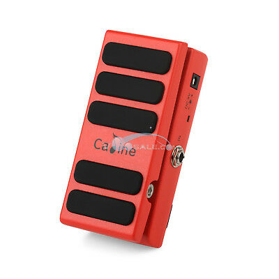 Caline CP-31 Hot Spice Wah Guitar Effect Pedal DC9V Input Wah Pedal Red Color CE