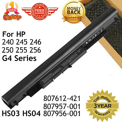 For HP 807957-001 Laptop Battery 807956-001 807957-001 HS03 HS04 HSTNN-LB6U us
