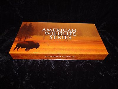 "Copper Round Coin Set   AMERICAN WILDLIFE  Series  ""10 COIN SET"" 1 oz. Coins"