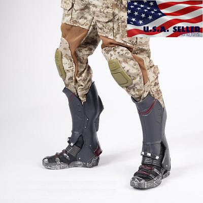 1//6 Wolverine Tactical Military Combat Boots For Hot Toys PHICEN Male Figure USA